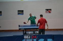Turneu de tenis de masă la Dej. S-a organizat și un mini-turneu pentru copilași – FOTO