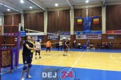Turneul final al Campionatului Național de Speranțe Masculin la Sala Sporturilor din Dej