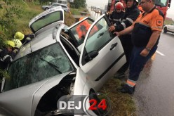 Grav accident la ieșire din Nima spre Bunești. Trei persoane rănite, două dintre ele încarcerate – FOTO/VIDEO