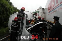 Bărbat din Gherla, decedat în urma unui accident rutier petrecut în județul Sălaj – FOTO