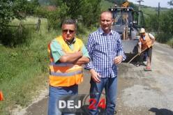 Președintele CJ Cluj a fost pe șantierul DJ109C Gherla-Fizeșu Gherlii-Țaga – FOTO