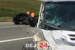 ACCIDENT între Gherla și Livada. Trei persoane au ajuns la spital – FOTO/VIDEO