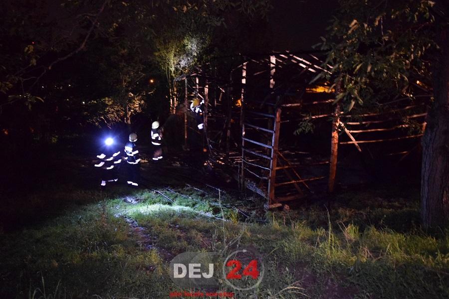 incendiu Ocna pompieri noapte (3)