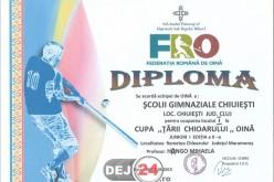 """Echipa de oină a Școlii Gimnaziale Chiuiești a câștigat """"Cupa Țării Chioarului"""""""
