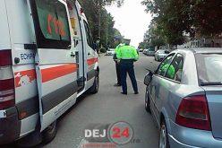 ACCIDENT în Dej! Minoră de 5 ani lovită de un autoturism