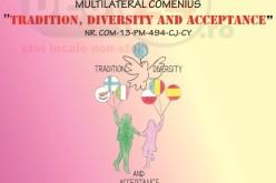 """Liceul Tehnologic """"Someș"""" Dej marchează finalizarea proiectului """"Tradition, diversity and acceptance"""""""