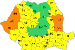 COD GALBEN de caniculă pentru județul Cluj. Când scăpăm de căldură?