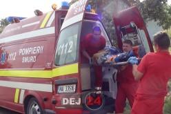 Femeie LOVITĂ de mașină, în Căprioara. A fost trimisă DIRECT la Cluj-Napoca – FOTO/VIDEO