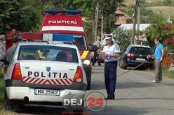 Accident rutier în Apahida. O persoană a fost grav rănită