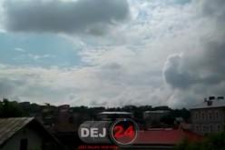 Două avioane militare au survolat Dejul. Află motivul – VIDEO