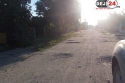 ȘTIREA TA: Locuitorii din Dej Triaj se plâng de starea deplorabilă a drumului – FOTO