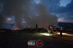 Weekend de FOC în județul Cluj! Pompierii au fost solicitați să stingă zeci de incendii de vegetație