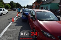 ACCIDENT în lanț la URIU. Patru autoturisme implicate