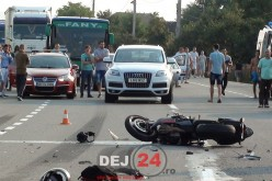 ACCIDENT MORTAL în Livada. Un MOTOCICLIST a decedat – FOTO/VIDEO