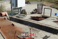 Muncitor DOBORÂT de CĂLDURĂ, într-un canal ADÂNC de 6 metri, în Dej – FOTO/VIDEO