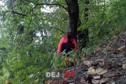 ȘOCANT. Femeie găsită SPÂNZURATĂ într-o PĂDURE din Dej – FOTO/VIDEO