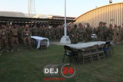 Militarii din Dej, plecați în Afganistan, vizitați de gen. Breedlove – FOTO
