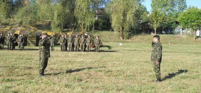 Militari din Dej, exercițiu multinațional alături de cadre militare din nouă țări