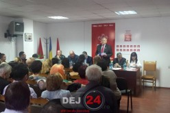 Cornel Itu, reales președinte al PSD Dej – FOTO