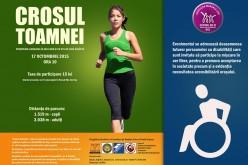 Crosul Toamnei la Dej, eveniment caritabil în sprijinul copiilor cu dizabilități