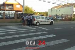 DEJ | Rupt de beat la volan, tras pe dreapta de polițiști, pe strada Fragilor