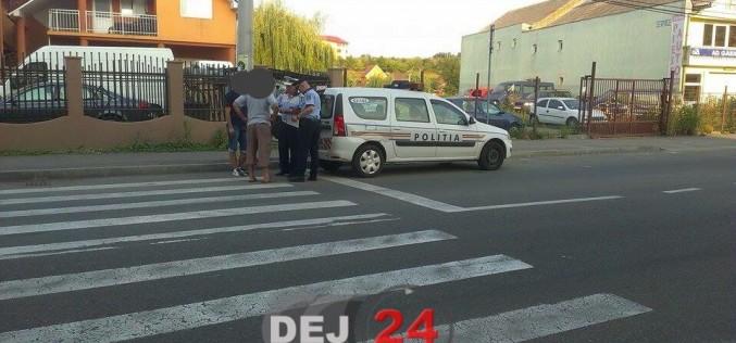 Bărbat din Cluj, la volan fără permis de conducere, pe o stradă din Dej