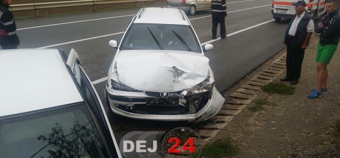 ACCIDENT cu ȘASE VICTIME pe centura municipiului Gherla – FOTO/VIDEO