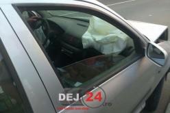 Trei autoturisme implicate într-un accident petrecut pe DN1C, în Răscruci