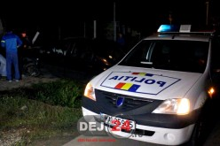 Accident la Iclod. Un tânăr beat și fără permis a intrat cu mașina într-un gard