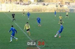 AFK Csikszereda – FC Unirea Dej 2 -1. Meciul, întrerupt 40 de minute de un elicopter SMURD