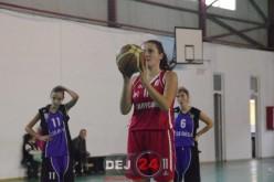 """Încă două victorii obținute """"acasă"""" de baschetbalistele de la LAPI Dej U16 – FOTO"""