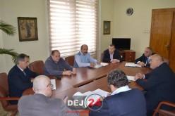 Edilul municipiului Dej, vizită la Instituția Prefectului Județului Cluj. Vezi ce s-a discutat – FOTO