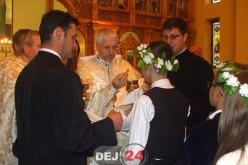 Vizită pastorală a PS Florentin Crihălmeanu la Dej – FOTO