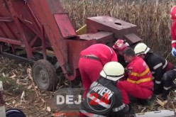 Un tânăr din Câțcău a rămas fără mai multe degete, în urma unui accident – FOTO/VIDEO