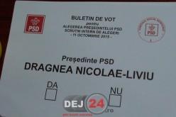 PSD-iștii din Dej l-au votat în număr mare pe Liviu Dragnea președintele partidului – FOTO/VIDEO