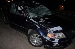 Căruță spulberată de o mașină condusă de un șofer din Dej – FOTO