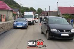 Accident în Viile Dejului. Un copil a ajuns la spitalul din Dej – FOTO/VIDEO