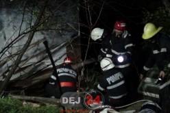 Un bărbat A MURIT STRIVIT sub greutatea unei CABANE, în Mintiu Gherlii – FOTO/VIDEO