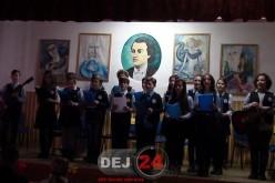 """Ziua Națională a României, marcată la Școala Gimnazială """"Mihai Eminescu"""" Dej – FOTO/VIDEO"""