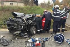 GRAV ACCIDENT în LIVADA. Două mașini implicate, un bărbat ÎNCARCERAT – FOTO/VIDEO