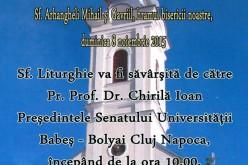 "Invitație la hramul parohiei ""Sfinții Arhangheli Mihail și Gavriil"" Dej"