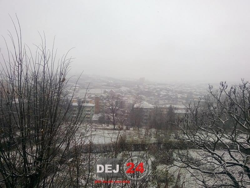 Prima ninsoare Dej (2)