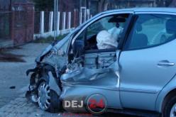 O femeie din Dej a provocat un ACCIDENT în Cuzdrioara. Trei autovehicule, avariate – FOTO/VIDEO