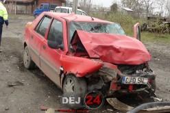 Accident în Dej. O persoană rănită, trei autovehicule implicate – FOTO/VIDEO