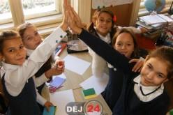 """""""Cea mai mare lecție din lume"""", la Școala Gimnazială Nr. 1 Dej – FOTO"""