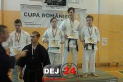 Clubul Sportiv Dinamic Dojo Dej, mai multe medalii la Cupa României la Karate Tradițional Kogaion – FOTO