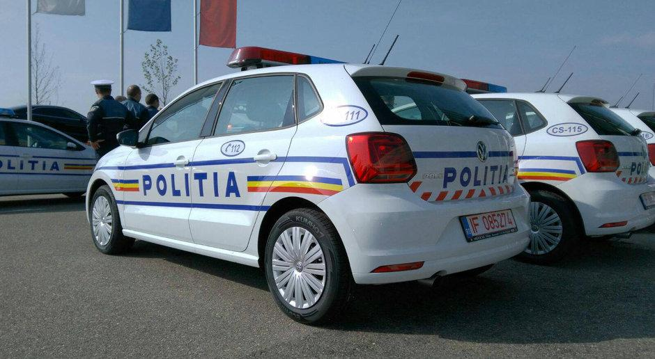 politia masini noi volkswagen polo