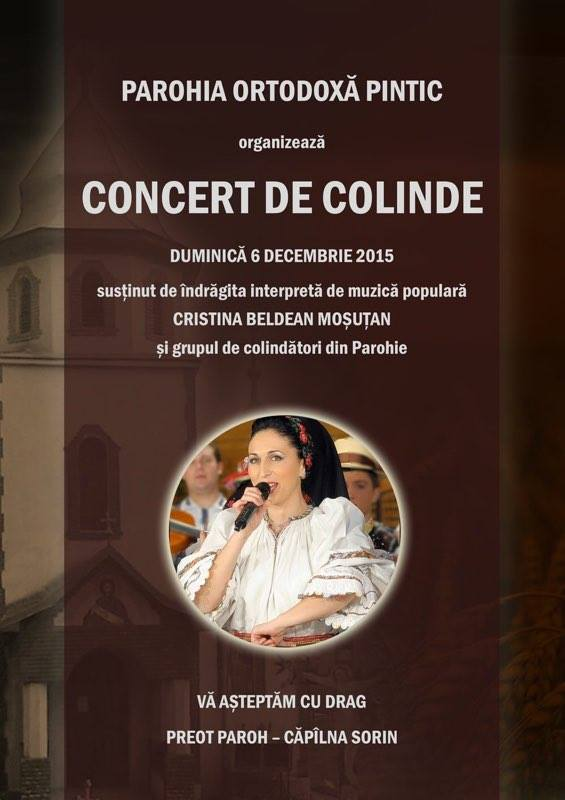Concert colinde Pintic