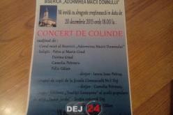 Concert de colinde, în incinta unei biserici din Dej. Vor fi prezenți mai mulți artiști locali