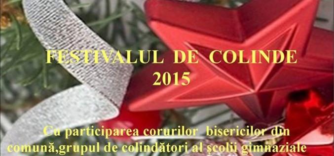 Festival de colinde la Chiuiești. Invitați speciali: Florentina și Petre Giurgi